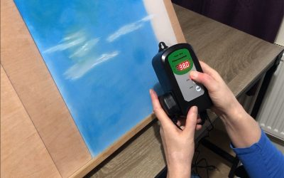 How to make a heated drawing board